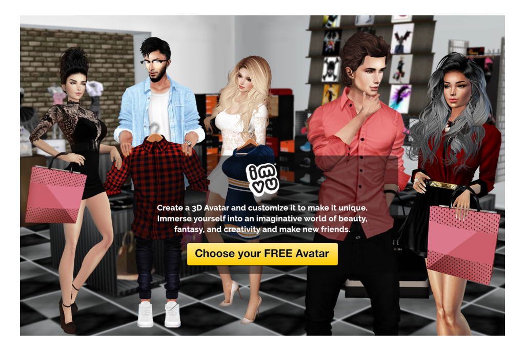 best 3d chat game online : JOIN IMVU GAME : Online Meetup