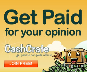 Cash Crate - Free Paid Surveys