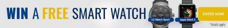 Win a Smart Watch
