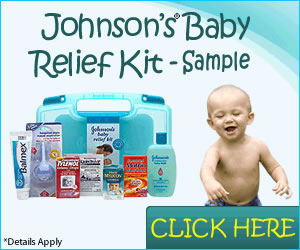 Johnson's baby relief kit