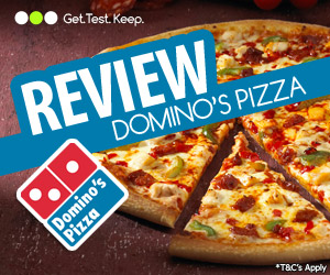 Free Domino's Pizza - to try and keep - Pizza Freebies