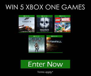 Win an Xbox One and 3 Games